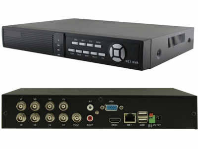 8 CH H.264 P2P real time CCTV DVR HDMI